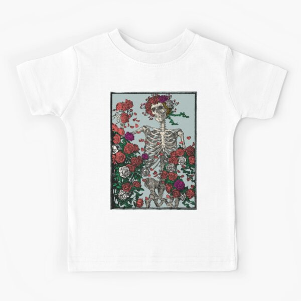 Skeleton & Roses Kids T-Shirt