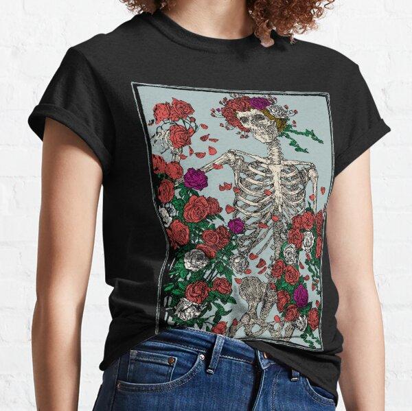 Skeleton & Roses Classic T-Shirt
