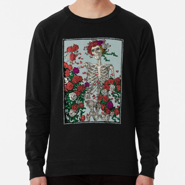 Skeleton & Roses Lightweight Sweatshirt