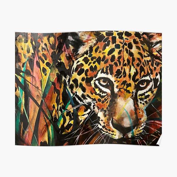 Jaguar in the Jungle Poster