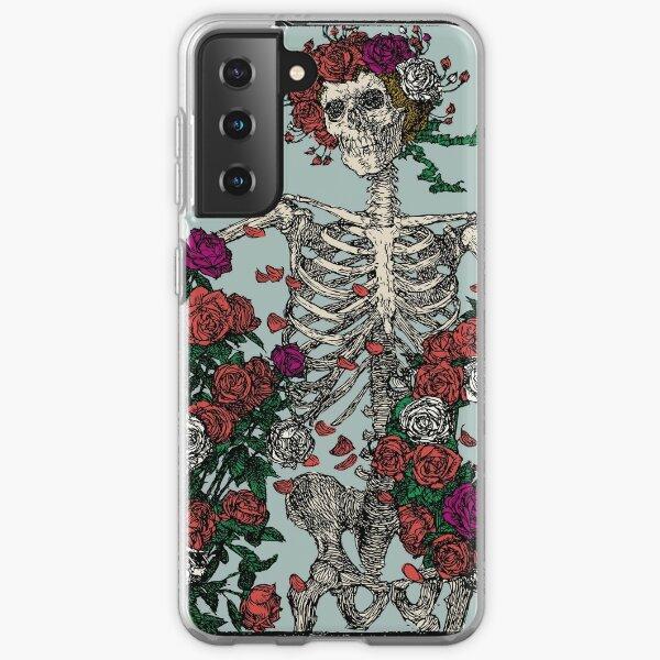 Skeleton & Roses Samsung Galaxy Soft Case
