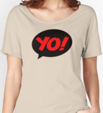 HIP-HOP ICONS: YO! RECORDS Women's Relaxed Fit T-Shirt