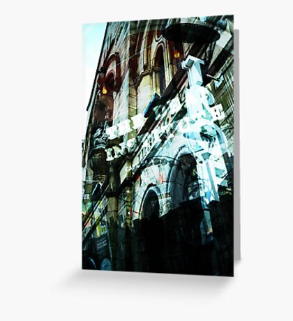 Manchester – Photomontage Greeting Card