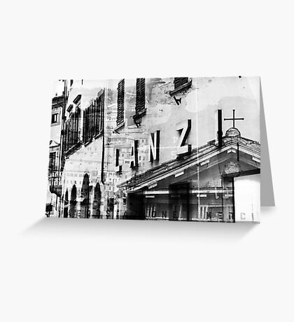 Italy – Photomontage Greeting Card