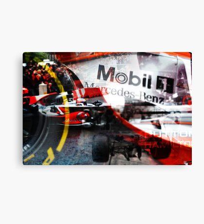 Formula One Manchester Canvas Print