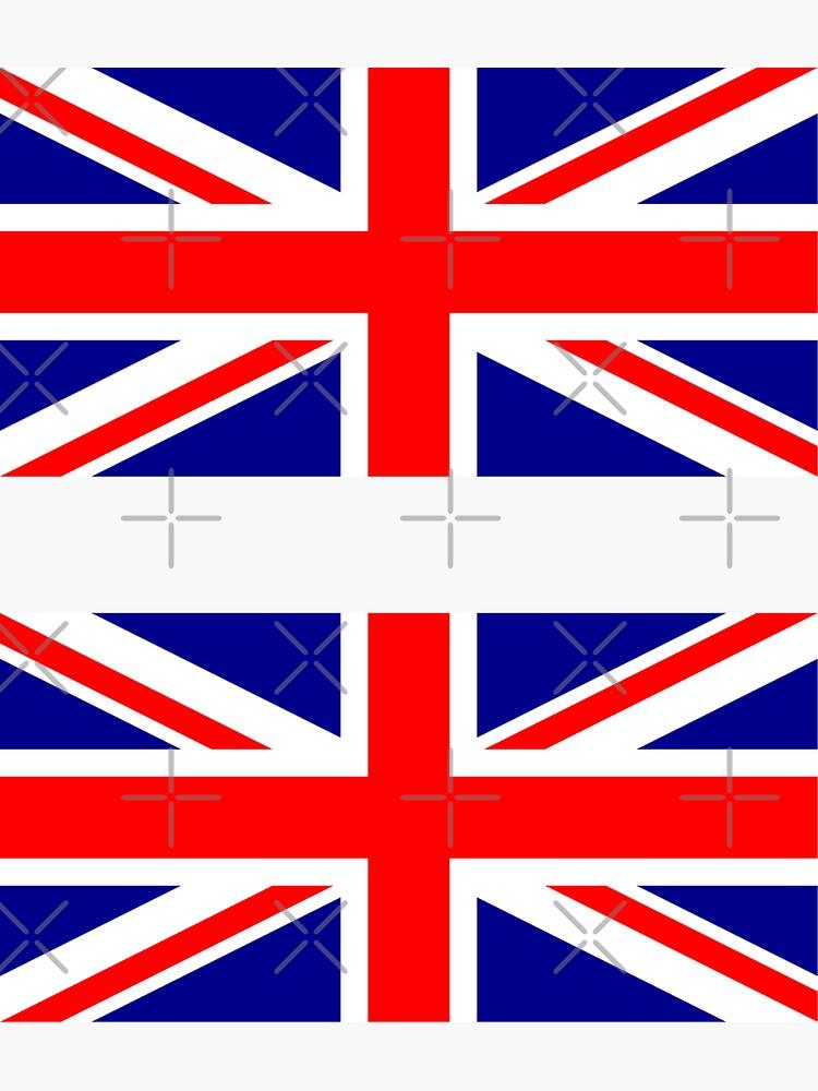 Bandera del Reino Unido × 2 de states