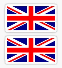 UK Flag ×2 Sticker