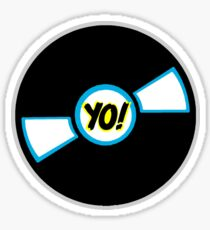 HIP-HOP ICONS: YO! RECORDS Sticker