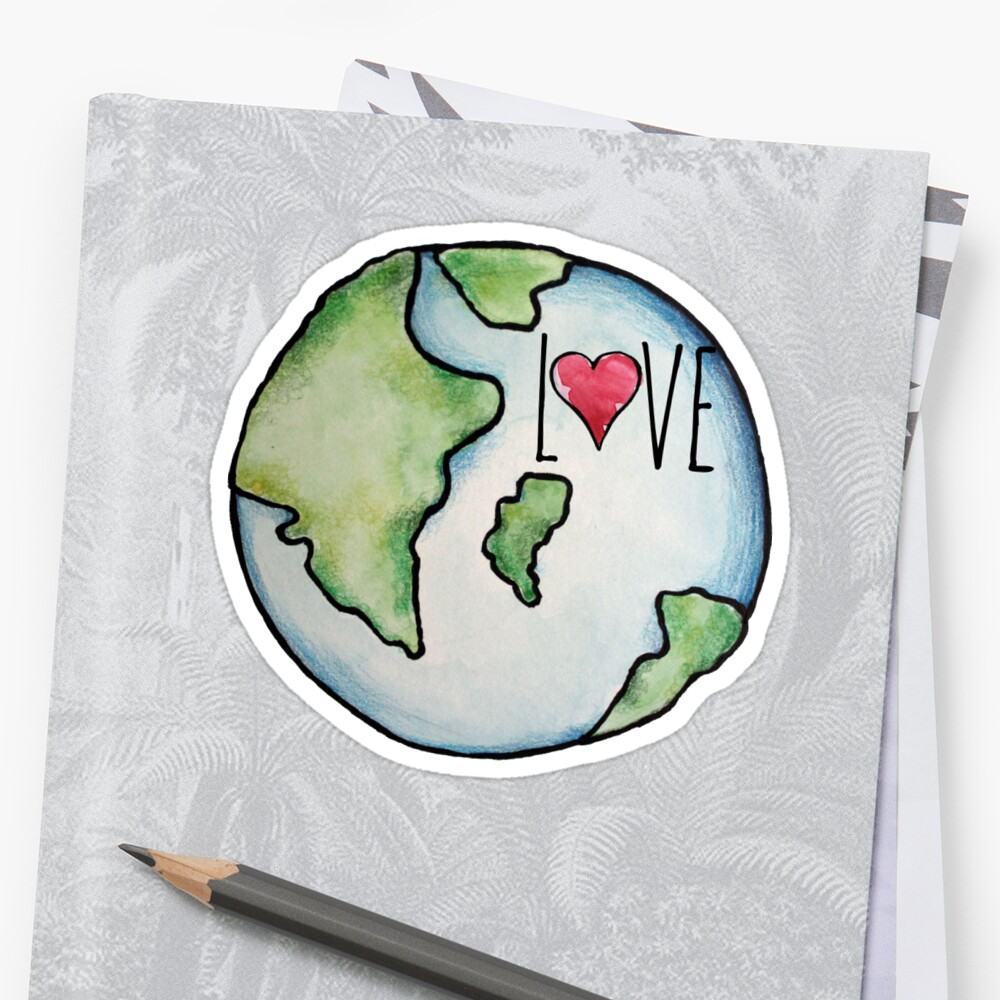 LOVE earth day  by BubbSnugg LC