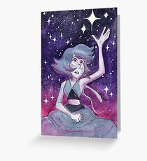 Where is Home?  Steven Universe Lapis Lazuli Greeting Card
