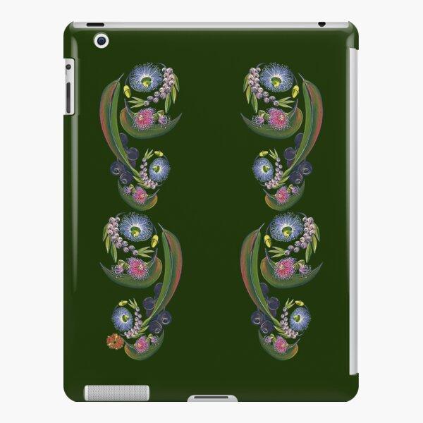 FLORAL ~ Folkart Gumnuts for Zipped Hoodies by tasmanianartist 04012021 iPad Snap Case