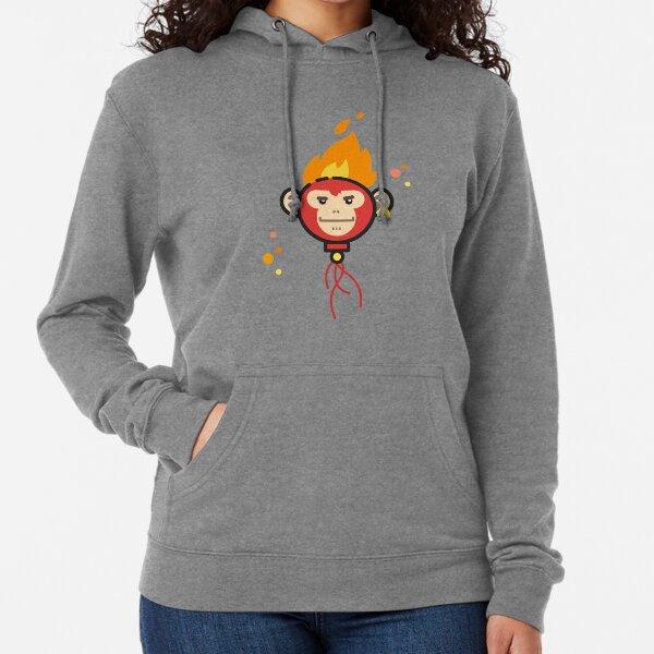 Fire Monkey Lightweight Hoodie