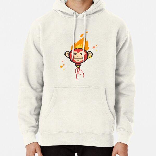 Fire Monkey Pullover Hoodie