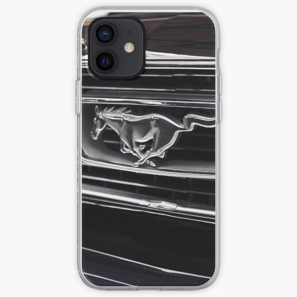 ford mustang, mustang logo Coque souple iPhone