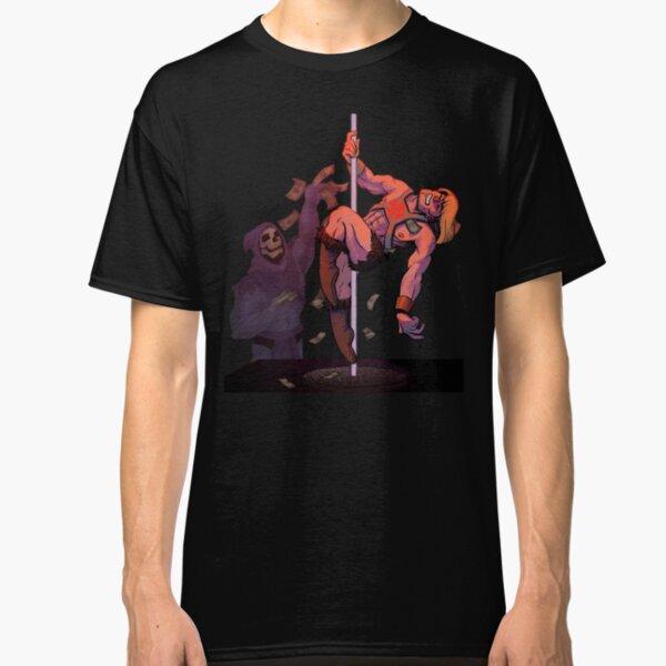 HO HO HO Funny rude Strippers T-shirt offensive Christmas Crew Neck Sweatshirt