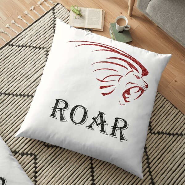 Lion Roar Floor Pillow