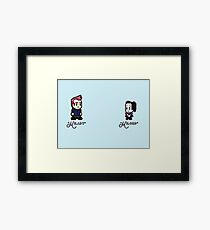 Community - Milady and Milord Framed Print