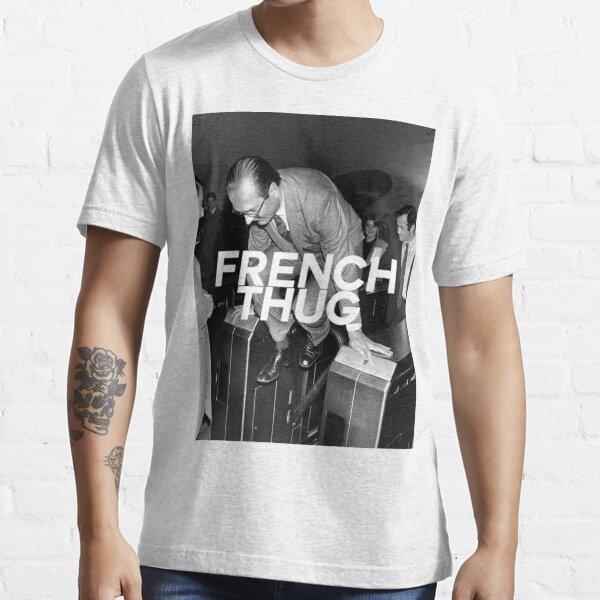"Jacques Chirac ""Français Thug"" T-shirt essentiel"
