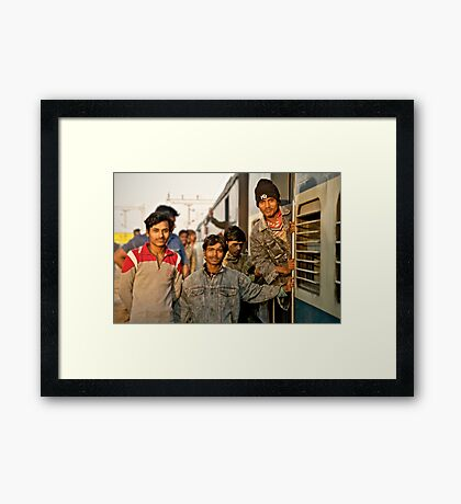 Not Everyone Wants to Smile for the Camera Framed Print