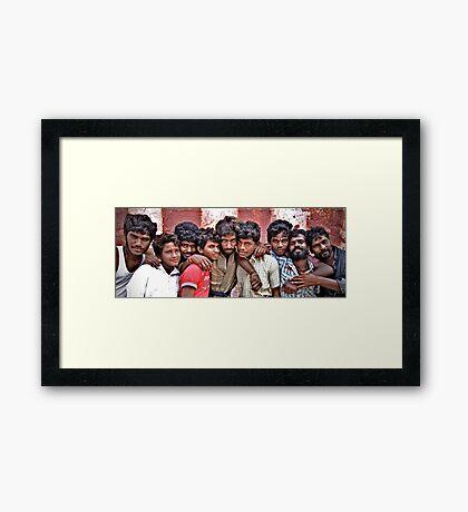 Strong Bonds Framed Print