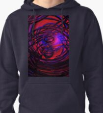Computer Generated Abstract   Pullover Hoodie