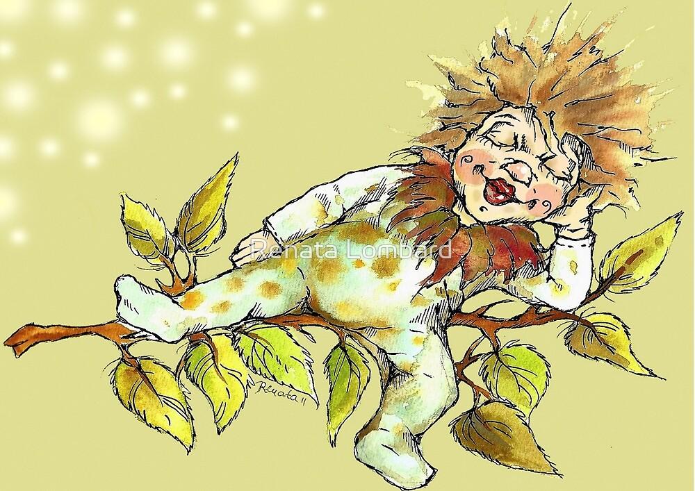 Little chestnut fairy by Renata Lombard