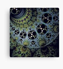 Amazing balls and circles Canvas Print