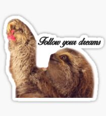 Inspirational Sloth Sticker