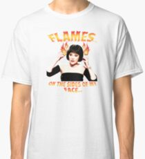 Clue Mrs White Flames Classic T-Shirt