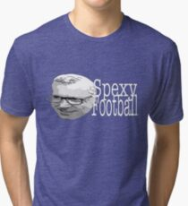 Alan Pardew: Spexy Football Tri-blend T-Shirt