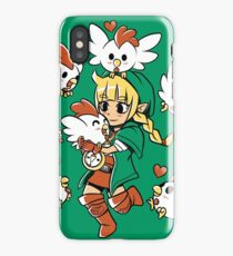 Linkle the Cucco Queen  iPhone Case/Skin