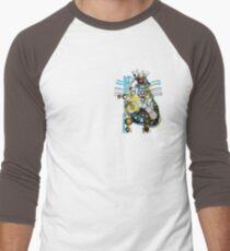 Cogs Of Your Heart Men's Baseball ¾ T-Shirt
