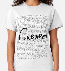 Cabaret Pop Classic T-Shirt