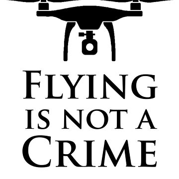 Flying is not a Crime by MJDesignLLC