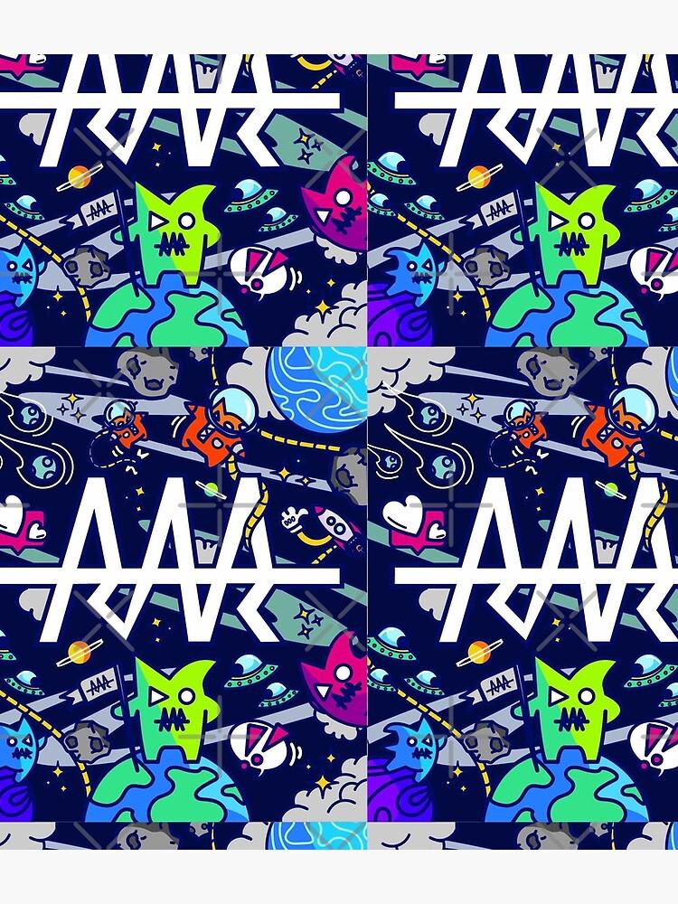 rar space monsters by StinkPad