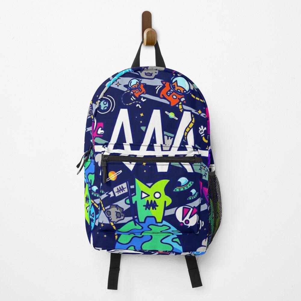 rar space monsters Backpack