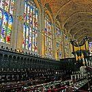 Kings College Chapel by Harry Oldmeadow