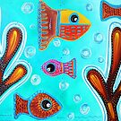 Quilted Fish by Laura Barbosa