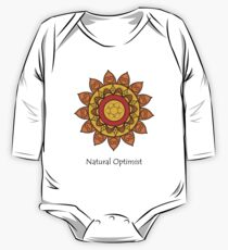 Natural optimist One Piece - Long Sleeve