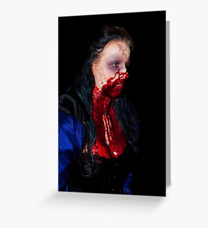 0737 Zombie 33 Greeting Card