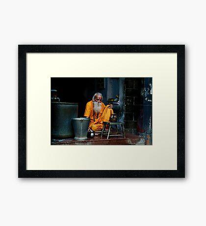 Delhi Spirit Framed Print