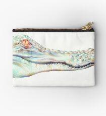 Albino Alligator Studio Pouch