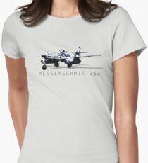 Messerschmitt 262 Womens Fitted T-Shirt