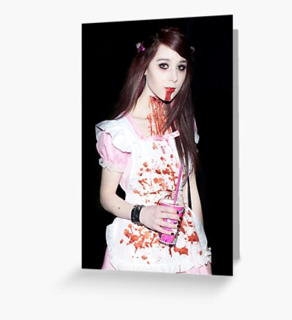 0732 Zombie 29 Greeting Card