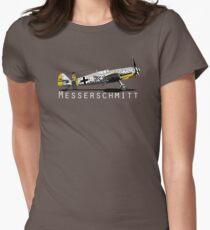 Messerschmitt BF 109 Women's Fitted T-Shirt