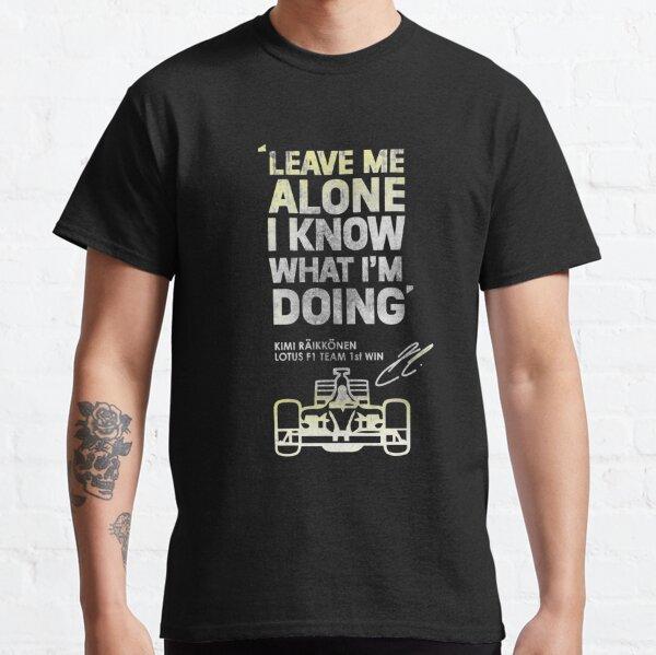 Kimi Raikkonen laisse-moi seul T-shirt classique