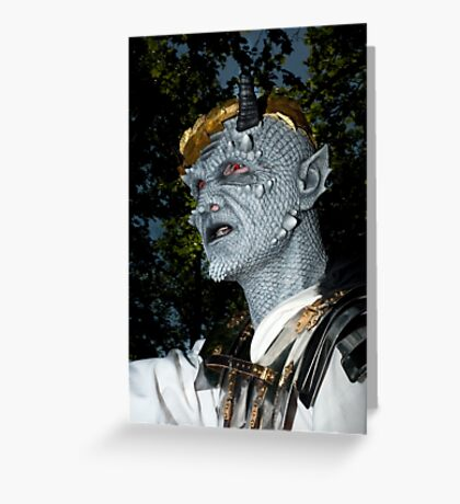 0730 Zombie 27 Greeting Card