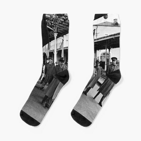 В. М. Молотов, Л. П. Берия, Г. М. Маленков, А. И. Микоян, В. С. Абакумов. Москва, 1 сентября 1948 года Socks