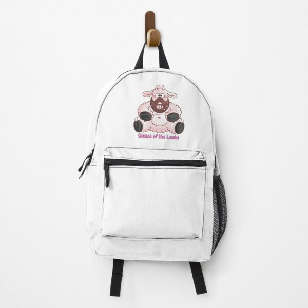 Silence of the Lambs Fluffy Pink Sheep Backpack