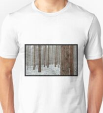 April snowstorm on pines T-Shirt